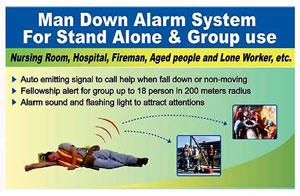 Hotel Lone Worker Alarm System Emergency Man Down Alarm